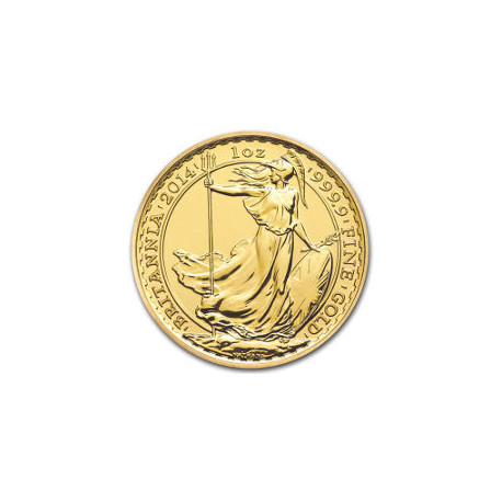 2014 1 Ounce of the Horse UK Gold Coin