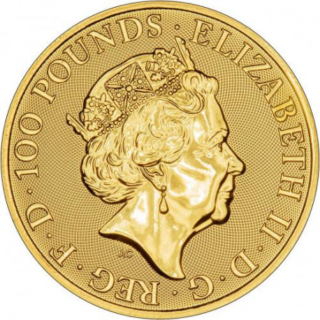 Buy 2019 1 oz British Gold Queen's Beast Yale Coins Online - peninsulahcap