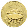 2019 1 oz British Gold Lunar Year of the Pig Coin - peninsulahcap
