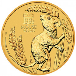 2020 1 oz Year of the Mouse Gold Coins - peninsulahcap