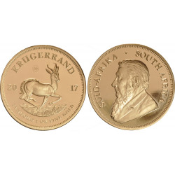 2017 Special Edition 50th Anniversary 1 OZ Krugerrand - peninsulahcap